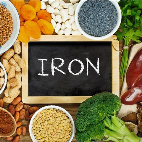 Iron deficiencies in the UK