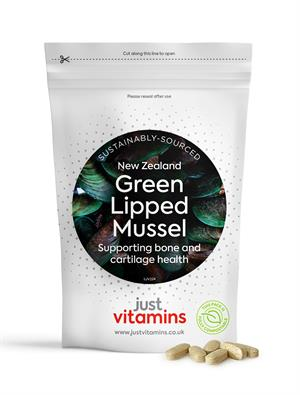 Buy Green Lipped Mussel 500mg + Calcium & Vitamin C