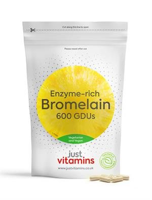 Buy High Strength Bromelain 500mg